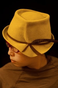 Chris Chun blocked this awesome hat for herself in the February Workshop